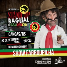 [SESSÃO EXTRA 22H] Stand-up Bagual do Gaudêncio (22/09)